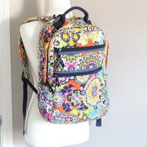 Vera Bradley Floral Pattern Multicolor Backpack